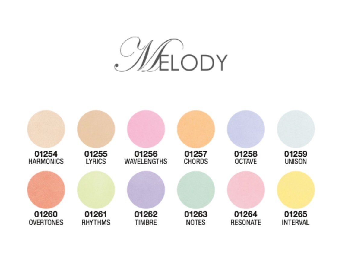 Melody Collection - Pastels