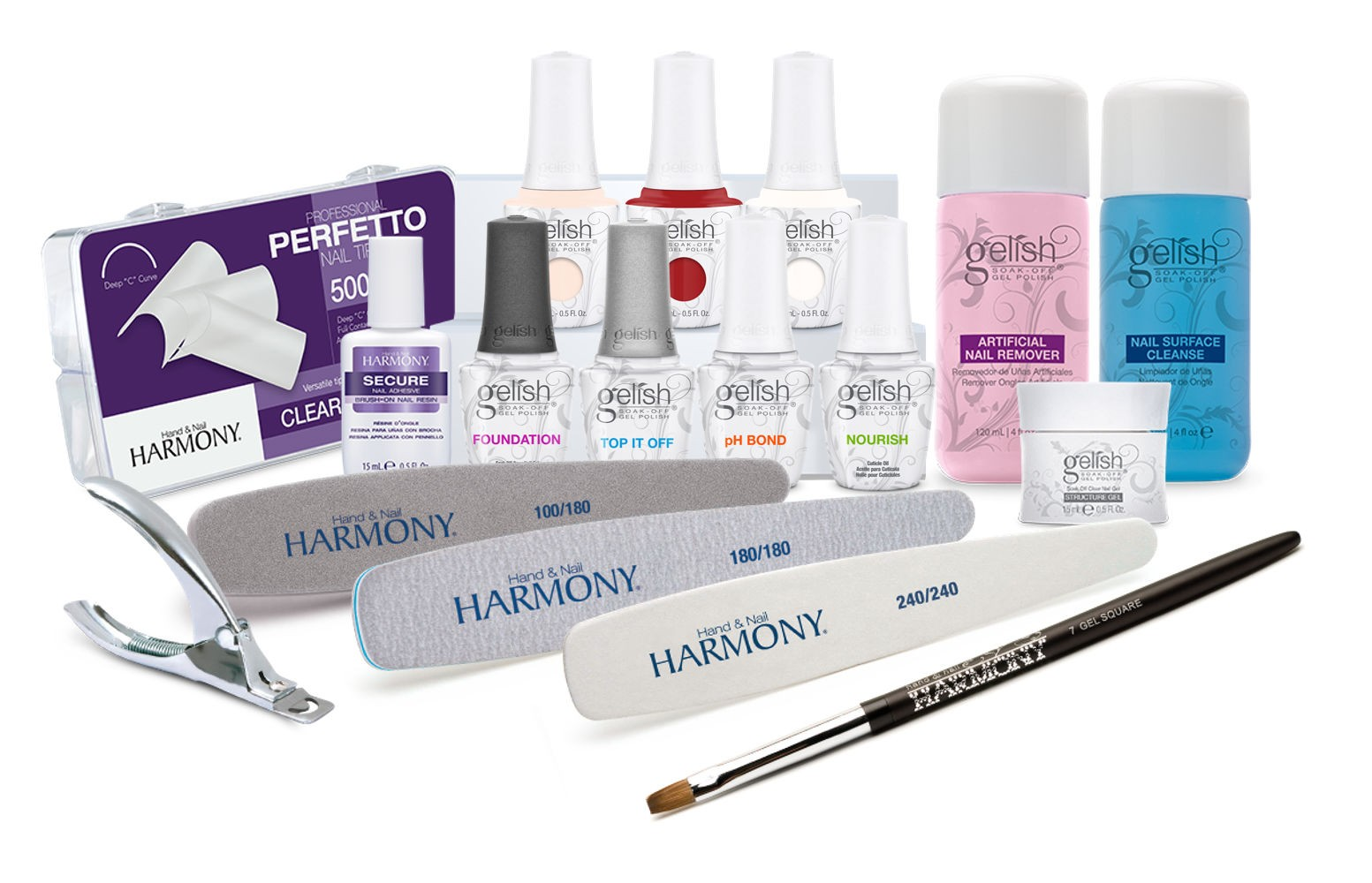Student Gelish Comprehensive Kit Lamp available separately