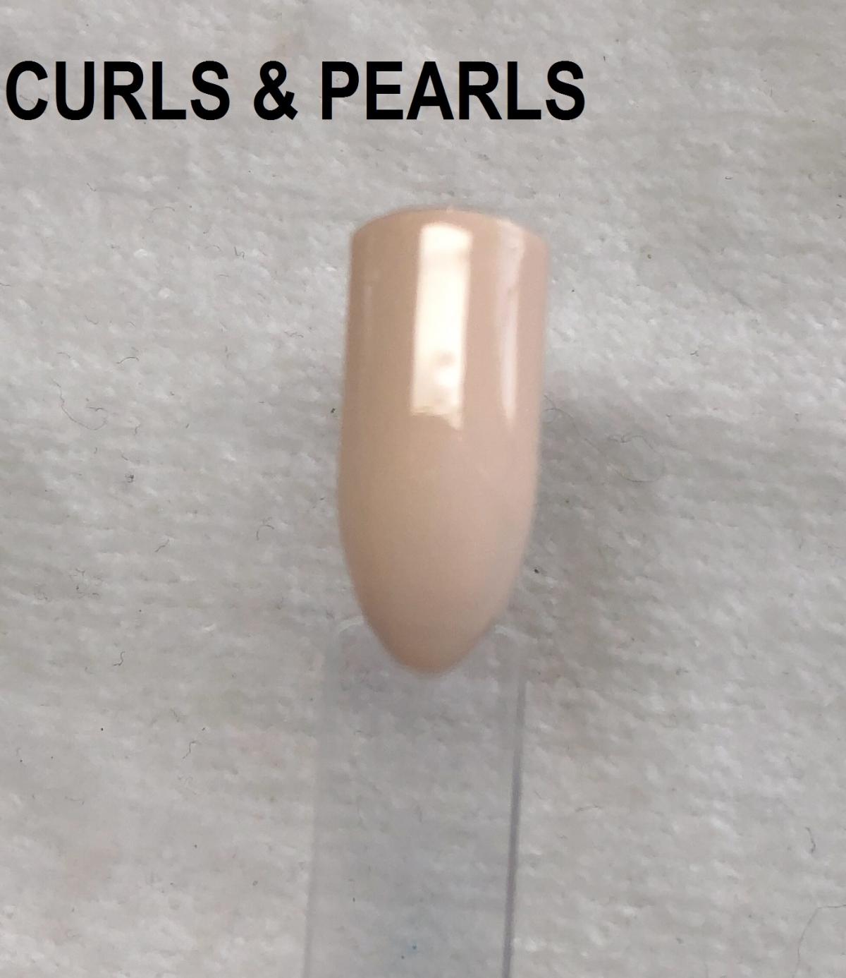 Gelish Curls Amp Pearls Gelish Gel Polish Gelish Colours Gelish Nail Harmony Uk