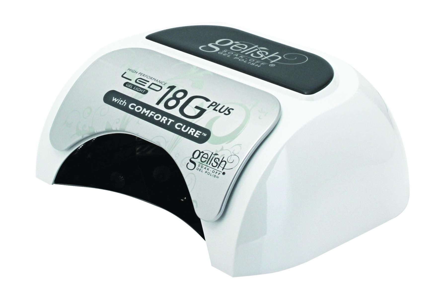 CureGel Polish Comfort Plus Led Lamp Gelish 18g With pzGLqUMSV