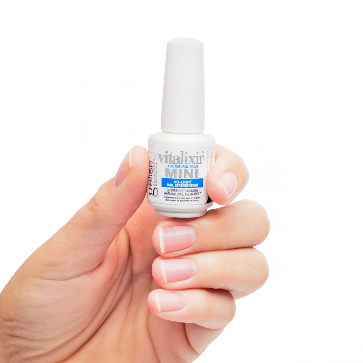 Gelish Vitalixir No-Light Keratin Natural Nail Treatment | Gelish ...