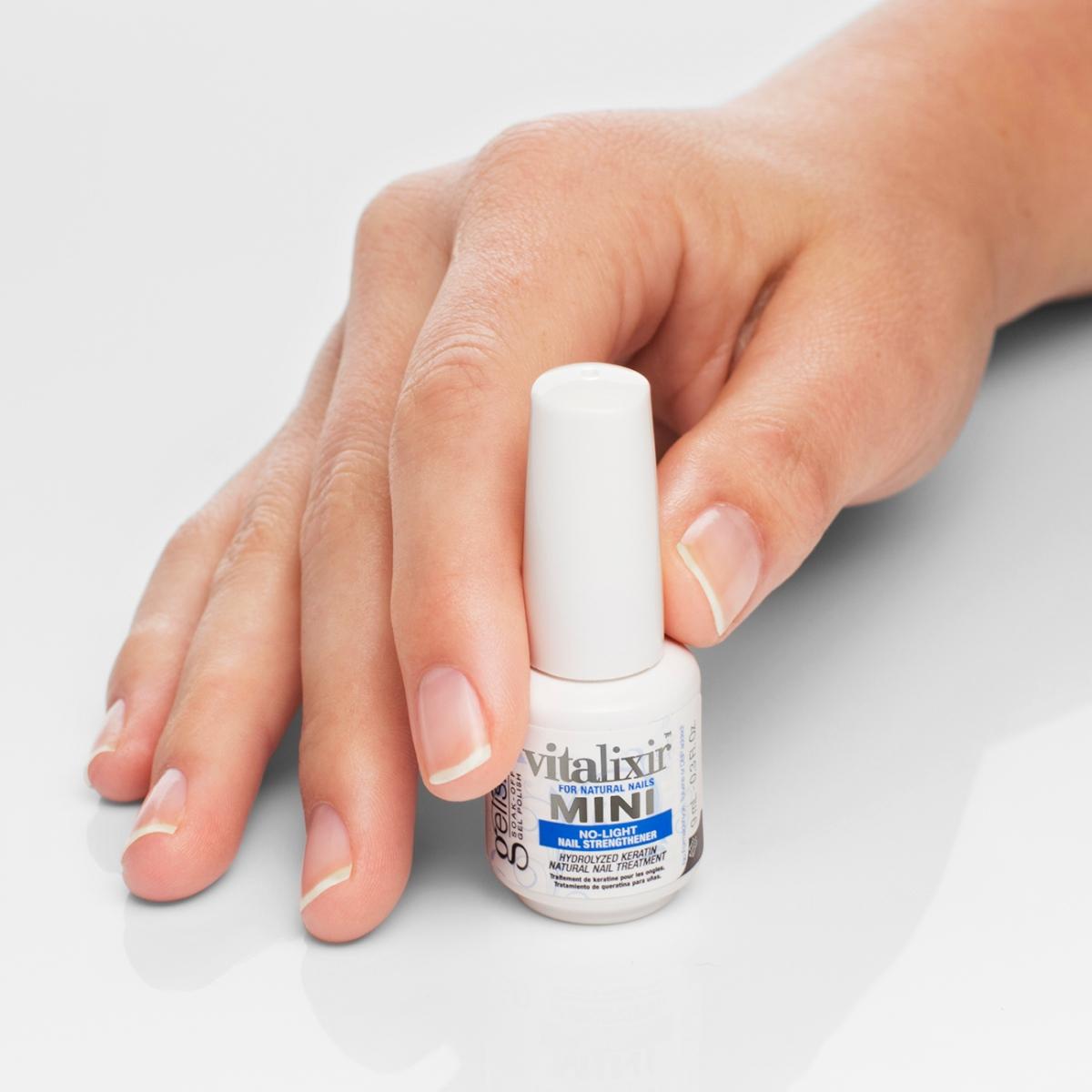 ... Vitalixir No-Light Keratin Natural Nail Treatment