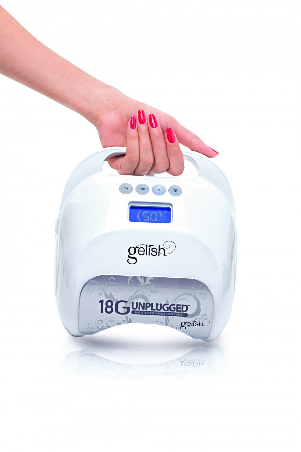 Gelish 18g Unplugged Led Lamp With Comfort Cure Gelish