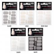 All That Jazz Filigree Stickers - Silver