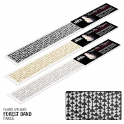 All That Jazz Filigree Stickers - Forest Band