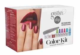 Gelish Dip Colour Kit