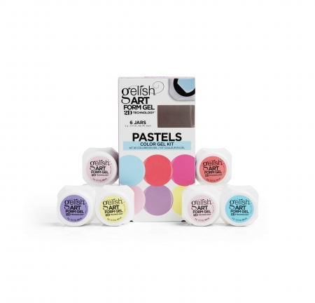 Gelish Pastels Art Form Gel Kit Gelish Gel Polish Art Form Gel Gelish Nail Harmony Uk